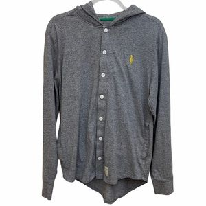 Five Four Mark McNairy Hooded Cardigan Button Down